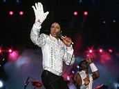 Michael Jackson tan�� ve st��brn� rukavici