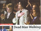 Michael Jackson - článek v časopise Q 2001