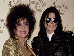 Michael Jackson a Elizabeth Taylor