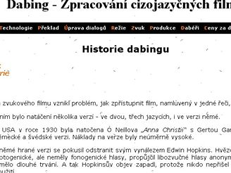 Dabing.cz