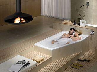 Koupelna pro zamilované
