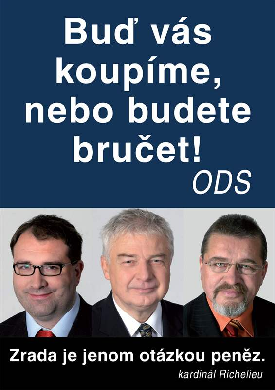 Plakát ČSSD