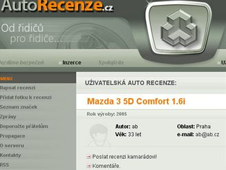 AutoRecenze.cz