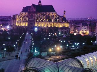 Paříž, Les Halles