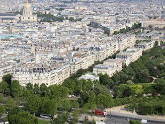 Paříž, výhled