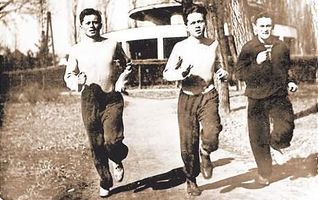 Bratři Mašínové a Milan Paumer.