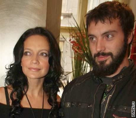 Lucie Bílá s manželem Noidem