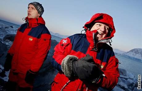 José Barroso, Jens Stoltenberg