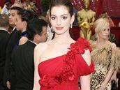 Anne Hathaway na předávání filmových cen Oscar