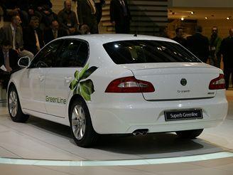 Škoda Superb GreenLine