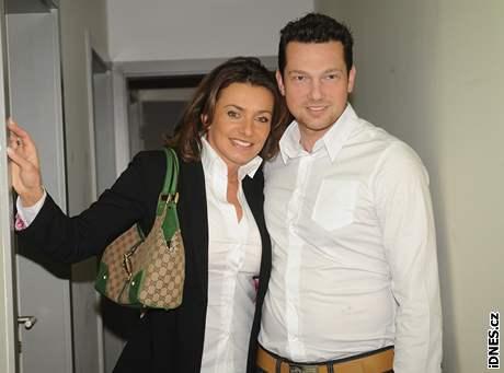 Alice Bendová a manželem