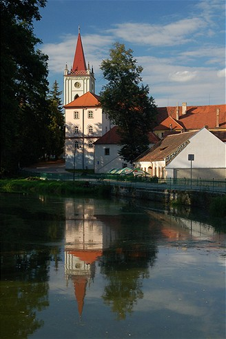 Vodní zámek Blatná