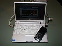 ASUS Eee PC 701 na veletrhu CeBIT