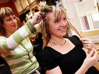 Prodlužování vlasů - metoda Ring