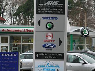 Německý autosalon