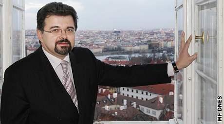 Jiří Weigl, kancléř prezidenta Václava Klause