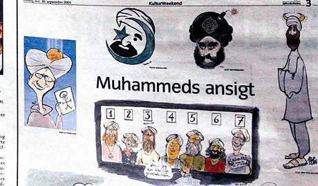 Karikatury Mohameda
