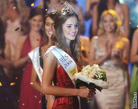 Novou Miss České republiky se stala dvacetiletá modelka z Karviné Zuzana Jandová