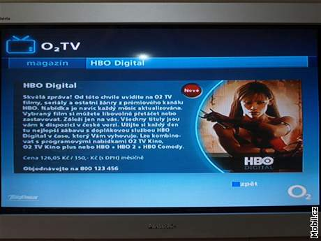 HBO Digital v O2 TV