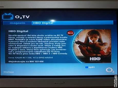 HBO Digital v O2 TV