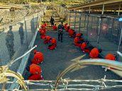 Americká základna Guantánamo na Kubě