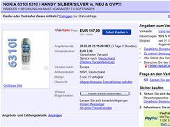 Nová Nokia 6310i v prodeji na eBayi