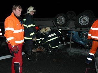Nehoda veteránů na D1