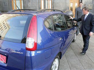 Chevrolet Tacuma pro nejvyššího člověka světa