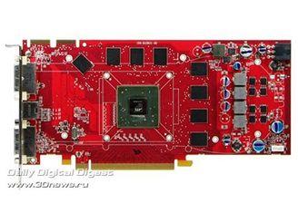 PCB u modelu HD4730 by mělo být podobné se starším Radeonem HD3850 (na fotce)