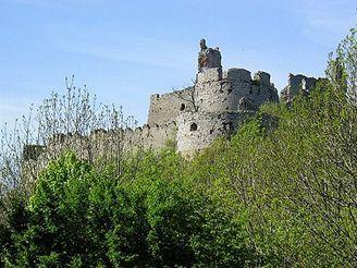 Malé Karpaty, Plavecký hrad