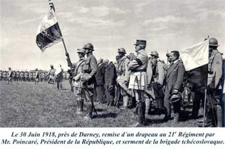 Legioná�i v roce 1918