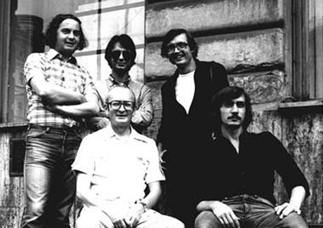 S+HQ v letech 1979-80 (Karel Velebný sedící vlevo)