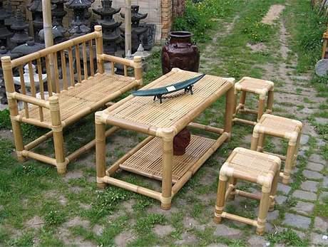 Nábytek z bambusu