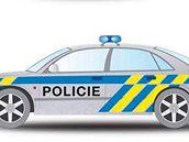 nový vzhled policejních vozů