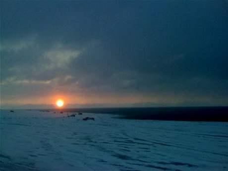 Expedice Severní pól vodka Amundsen 2008