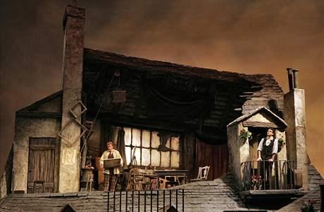 Pucciniho Bohému dávali v přímém přenosu ve znojemském kině.