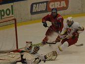 Litvu na úvod mladí hokejisté deklasovali 7:1
