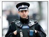 Český Rom Petr Torák ve službách britské policie (8. dubna 2008)