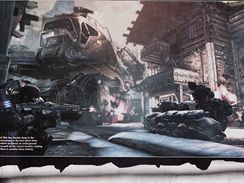 Gears of War 2 nové scany