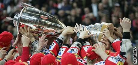 Slávisté se radovali z titulu v roce 2008. Předeženou letos Spartu?