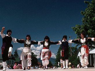 řecké tance