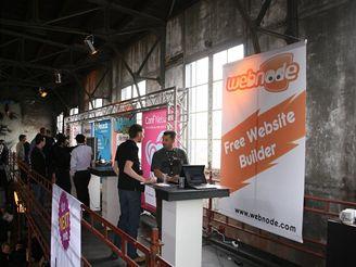 V�t Vrba prezentuje Webnode.com na The Next Web