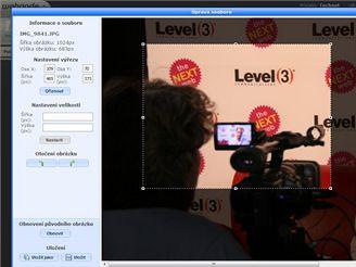 Webnode.com - Úprava fotek
