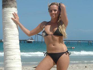 Kateřina Kristelová - focení pro Playboy ve Venezuele