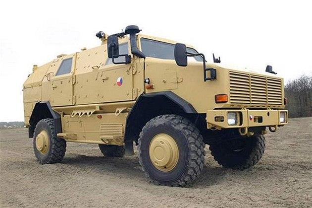 Obrn�ný v�z Dingo �eské armády.