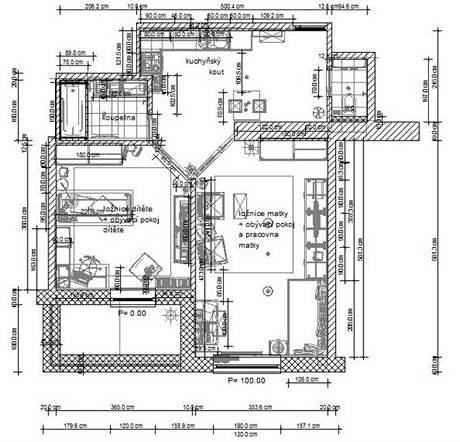 Kompletní rekonstrukce bytu 2+kk