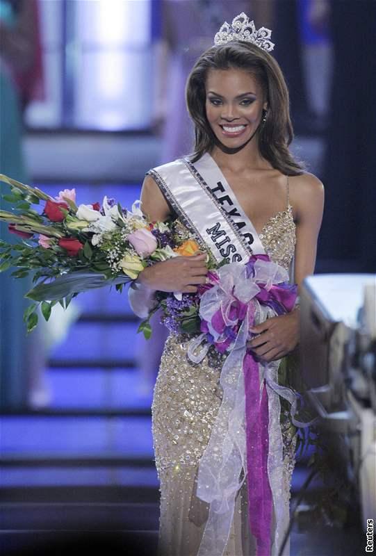 Miss USA 2008 Crystle Stewartová