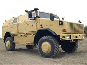 Obrněné vozidlo Dingo 2 pro českou armádu