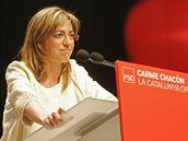 Carme Chacón, španělská ministryně obrany