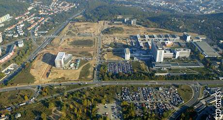 Stavba univerzitního kampusu v Brně